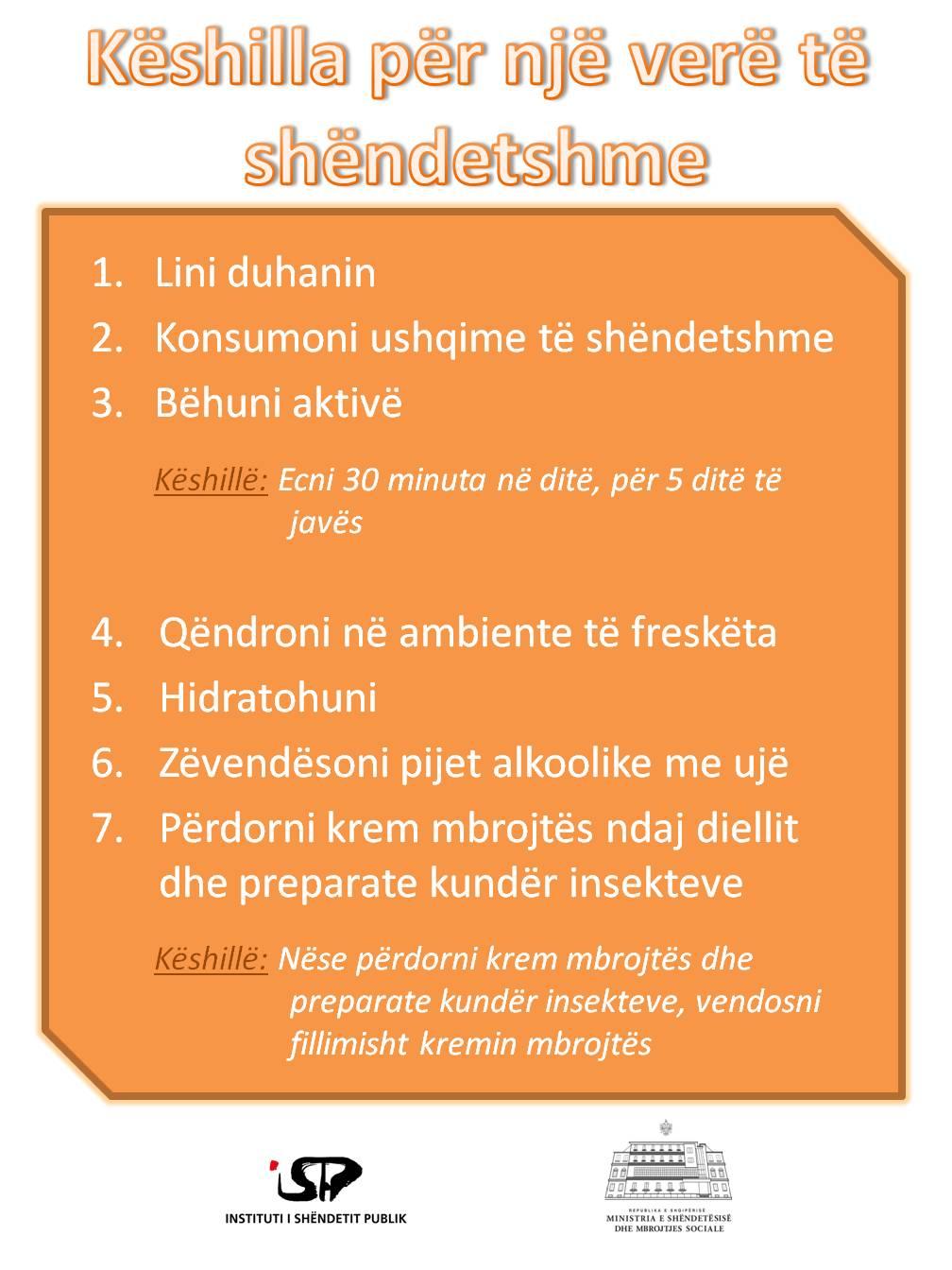 8. vere e shendetshme
