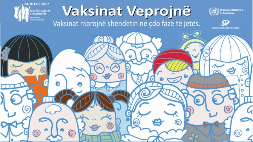 java e vaksinimit poster shqip